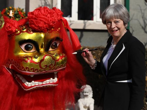 Chinese state media praises 'pragmatic' Theresa May for not mentioning their atrocious human rights while visiting them