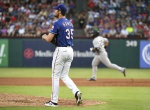 Hamels limits slugging Yankees as last-place Rangers win 6-4