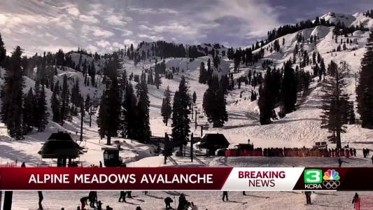 1 dead, 1 injured in avalanche at California ski resort