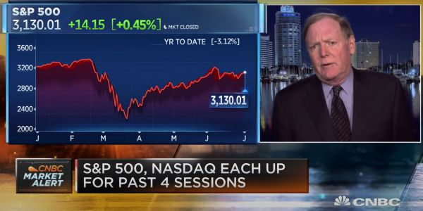 'You're going to get a rocket ship': Veteran strategist Jeff Saut sees the S&P 500 breaking 4,000 in the next 12 months