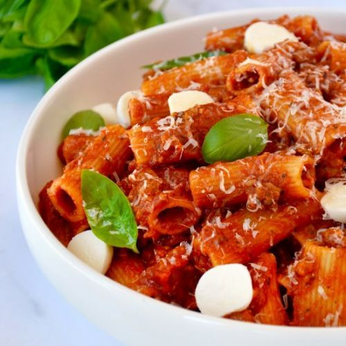 One Pot Pasta with Italian Sausage