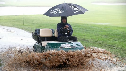 Rain washes out Genesis Open start, play suspended to afternoon