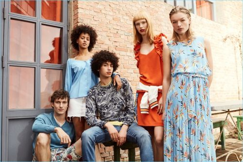 Dive Into Heat: Malthe Lund Madsen & Sofian El Ben for Pepe Jeans