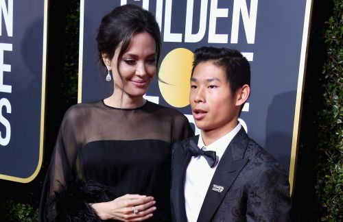 Angelina Jolie Brings Teenage Son Pax as Her Date to the Golden Globes!