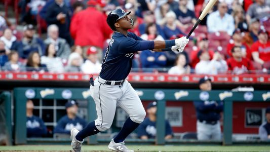 Watch: Braves outfielder Ronald Acuña Jr. crushes first MLB home run