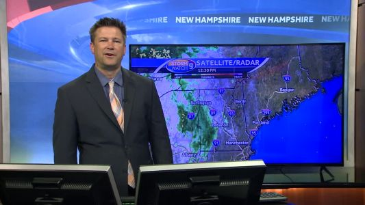 Watch: Scattered storms possible Friday evening