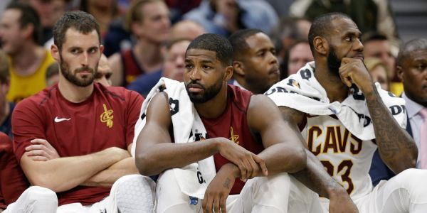 Kevin Love reportedly came under fire in a heated Cavs meeting, and the team is still said to be 'divided'