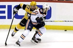 Crosby, Penguins trip up McDavid, Oilers 3-1