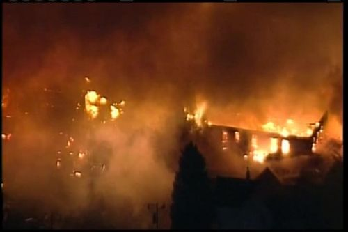 Firefighters hospitalized after explosion rocks Wisconsin town