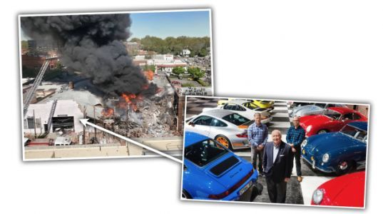 Fatal Gas Explosion Near North Carolina Porsche Collection