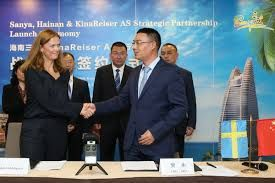 Sanya tourism development commission and KinaReiser AS sign MoU