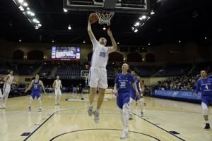 Haws has career-high 35 to lead BYU over USD, 88-82