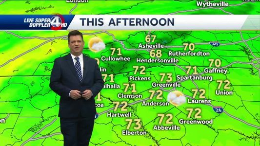Videocast: Good weekend; Rain on the way