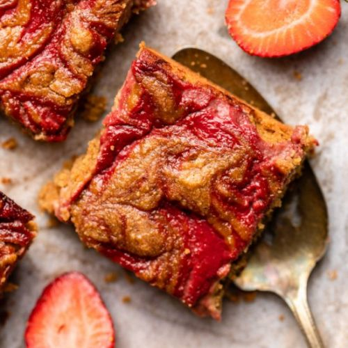 PB&J Blondies