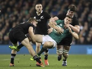 Ireland topple All Blacks 16-9 at home for first time