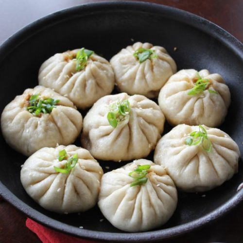 Fried and Steamed Pork Buns