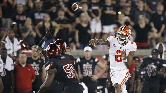 College football rankings: Clemson moves to No. 2, several teams drop after losses to unranked foes