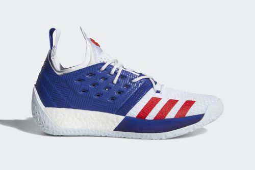 Adidas Harden Vol. 2 Gets a Patriotic New Outfit
