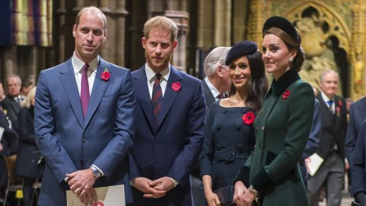 Prince Harry And Meghan Markle Reportedly Weren't At Kate Middleton's Birthday Lunch