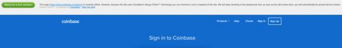 Coinbase Goes Down as Bitcoin Plunges