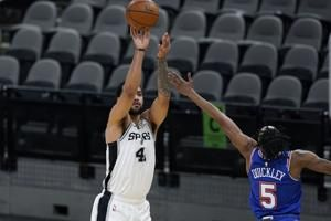 Lyles, Murray lead Spurs to victory, snapping Knicks' streak