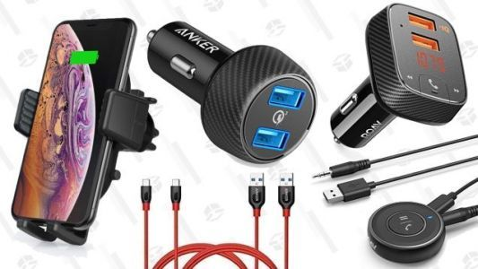 A Bunch of Anker's Best Car Accessories and Charging Cables Are On Sale, Today Only