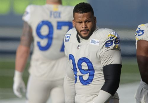 Attorney for Aaron Donald says his client actually helped the man accusing NFL star of assault