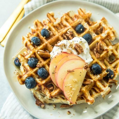 Healthy Protein Waffle