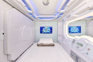 Affordable capsule hotel in Switzerland