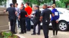 Students Stage Sit-In For Gun Control Outside Paul Ryan's Office, Get Arrested