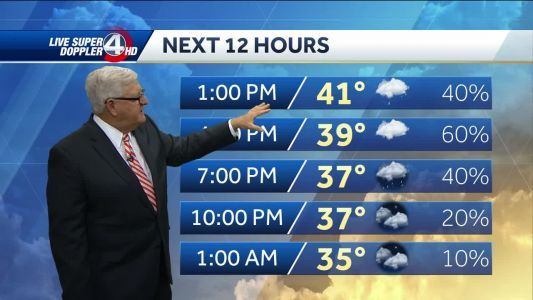 Winter storm moves out, making way for freezing hazard