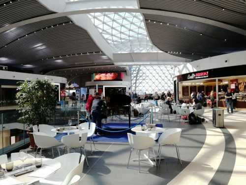 Where to Eat in Rome's Fiumicino Airport