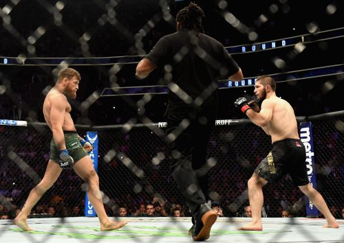 Khabib Nurmagomedov calls Conor McGregor an alcoholic and a rapist, reigniting an ugly UFC feud on Twitter