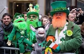 St Patrick's Day observed fworldwide
