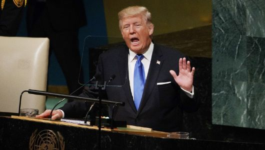 Trump signals end of Iran nuclear deal by calling it an 'embarrassment' in UN speech
