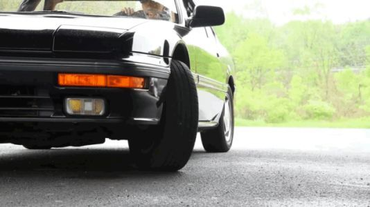 Here's How The Honda Prelude 4WS's Four-Wheel Steering Worked