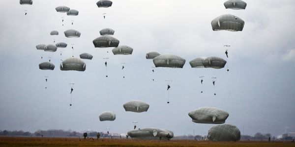 These are the only 5 combat jumps by US troops that we know about since September 11