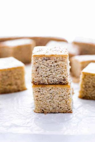 Easy Gluten Free Banana Bars Recipe