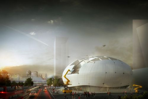 Seoul's Robot Science Museum Will Be Constructed Entirely by Robots