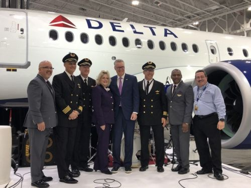 Delta inducts first Airbus A220-100 to its fleet