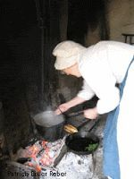 Streaming from the hearth - virtual hearth cooking and baking in ovens