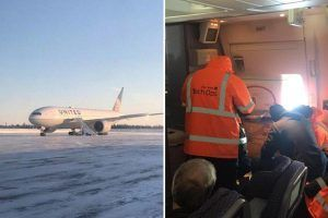 250 United Airlines passengers suffer 16-hour ordeal, freezing at Canadian tarmac