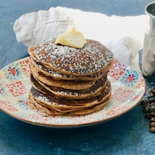 Espresso Chocolate Chip Pancakes