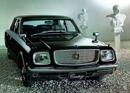 Luxury automotive design peaked with the late 1970s E-VG35 chassis Toyota Century
