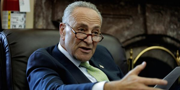 """Chuck Schumer accuses President Trump of """"bullying"""" in Florida recount, says every vote should be counted regardless of deadline"""