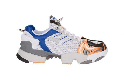 Vetements Spike 400 Runner Releases in Sporty Blue and Orange Mix