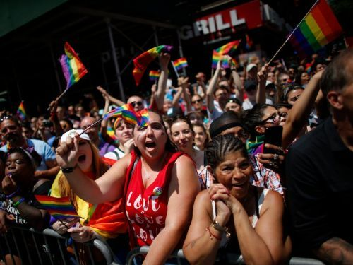 Millions of people flocked to Manhattan for New York's annual LGBT Pride March - here are the best photos