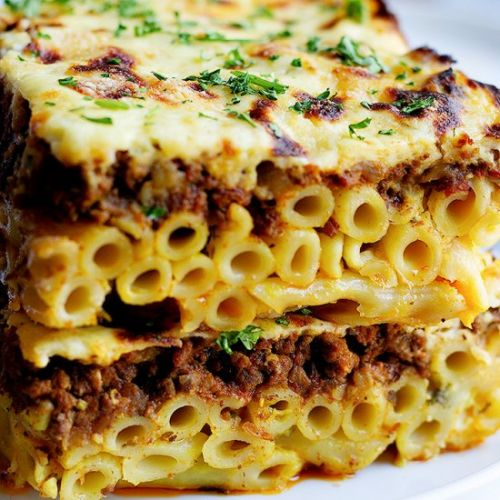 Easy Greek Pastitsio Recipe
