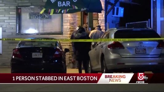 1 stabbed outside East Boston bar overnight