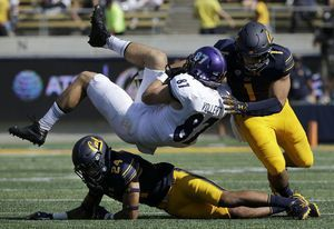 Laird's 3 TDs help California rally past Weber State 33-20